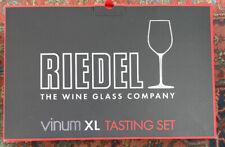 New-RIEDEL VINUM XL 4PC TASTING SET—Wine Glass-Pinot Noir, Cabernet, Riesling