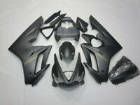 Factory Black Fairing Kit For Triumph Daytona 675 2006-2008 2007 ABS Plastic USA