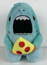"Peek-A-Boo Toys Blue Shark Plush Eating Pizza Slice 10"" Stuffed Animal"