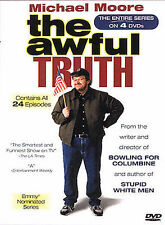 Michael Moore the Awful Truth 4-DVD Box Set Complete Series Season 1+2
