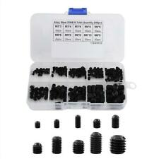 240PCS/Box 10 Kinds of Small Screw Nuts Electronics Assortment Kit M3-M8