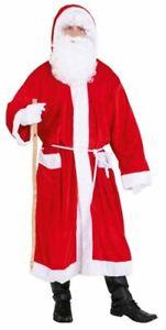 Nikolaus Nikolausmantel Weihnachtsmann Weihnachtsmannmantel Plüsch