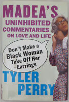 Tyler Perry Certified Authentic Autographed Signed Madea Book Beckett H44556