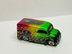 Hot Wheels DAIRY DELIVERY BOB MARLEY RED LINE
