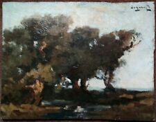 Prudent Pohl - ZANAROFF (1885-1966) -  Paysage - Savoie, Moret sur Loing