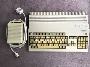 Commodore Amiga 500 Plus with 1Mb RAM and original PSU, Tested & Working