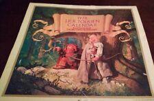 Jrr Tolkien Lord of the Rings Vintage 1978 Calendar Art