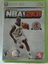 2K SPORTS NBA 2K8 Basketball (Microsoft Xbox 360, 2009) Complete w Manual