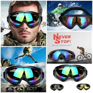 Ski Cycling Sunglasses  Anti-fog Goggles UV400 Snow Sports Outdoor Accessories.