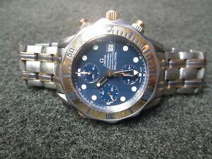 OMEGA SEAMASTER CHRONOGRAPH 2296.80 TITANIUM/ROSE GOLD