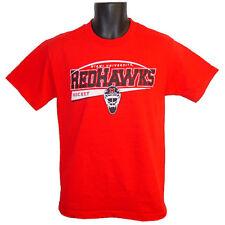 Miami University RedHawks Hockey CI Sport Titan Red T-Shirt - Small