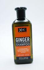 2 x XHC Ginger Anti Dandruff Shampoo 400ml Each Shiny Paraben Free Hair Care
