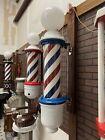Fully Restored Theo A. Koch Barber Pole By Custom Barber Chairs Atlanta.