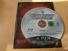 White Knight Chronicles - UK Sony PS3 Game Disc & Instructions Only VGC