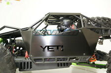 Axial YETI XL 90032 90038 Stainless Steel Side Body Panel Armor L&R BLACK