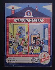 Protège cahier Famille FLAMBO Furnex Mecona Electra Wachbuch copybook cover