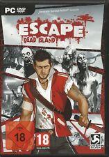 Escape Dead Island (PC, 2014, DVD-BOX) senza istruzioni, con Steam Key Codice
