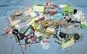 Large Lot Vintage Original  Remote Control NOS Parts Used Parts Tools & More