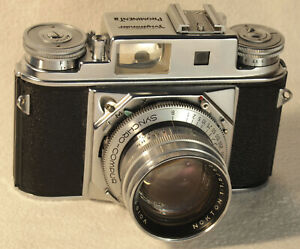 VOIGTLANDER Prominent II Camera with 1:1.5 50mm Nokton Lens and Accessories