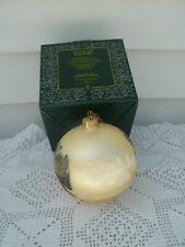 Glass Christmas Ball by Thomas Kinkade-*Painter of Light*-Brushworks-2003-Ni b