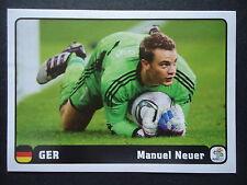 Panini 6/6 manuel neuer Alemania em 2012 Poland-Ucrania