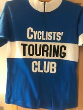 "Vintage CTC merino cycling jersey 36"" chest excellent condition"
