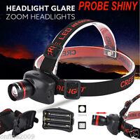 3000LM CREE XM-L Q5 LED Headlamp Headlight Flashlight Head Light Lamp Torch UK