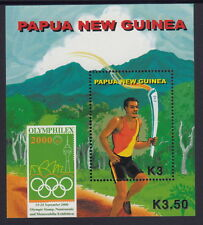 Papua New Guinea 2000 Olyphilex Stamp Exhibition s/sheet