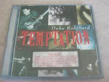 Temptation by Duke Robillard (CD) FREE U.S. SHIPPING