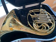 More details for amati ahr343 full double f/bb french horn – lacquer
