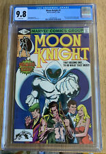 Moon Knight #1 White Pages CGC 9.8 TV Show