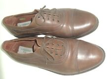 Men's Salamander City Vintage Oxford Shoes Brown Size 11M Made in Yugoslavia