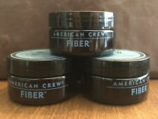 Lot 3 American Crew Fiber 3 Oz. Styling Products Hair Care