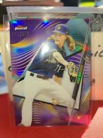 2020 Topps Finest JOSH HADER Purple #37/250 Milwaukee Brewers RARE SP!