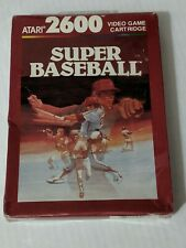 ATARI 2600 SUPER BASEBALL - NEW FACTORY SEALED - NTSC Version  {S20