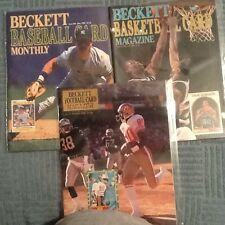 Beckett Price Guide Vintage Magazines 1990 Issue #2-7-62 Rice, Mattingly