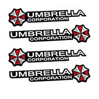 Car Resident Evil Umbrella Car Sticker PET Graphic Zombie Decal Motor Emblem