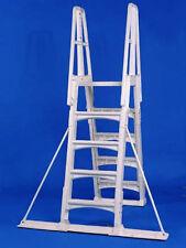 VinylWorks Slide Lock A Frame Ladder Stabilizer Kit Aboveground Swimming Pool
