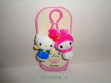 Itty Bittys Clippys Sanrio Hello Kitty & My Melody Hallmark New Unopened Mint