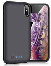 iPosible Cover Batteria USATO per iPhone X/XS/10,6500mAh