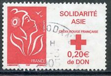 STAMP / TIMBRE FRANCE OBLITERE N° 3745 SOLIDARITE ASIE MARIANNE
