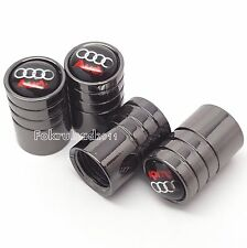 Audi tyre wheel valve dust caps