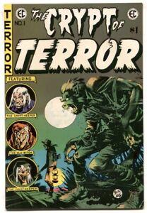Crypt of Terror #1 1973-East Coast Comix- EC horror reprint FN/VF