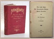 Verbeck 3 Erzählungen 1895 Der erste Beste Neuenhofer Klucke Maria Neander xz
