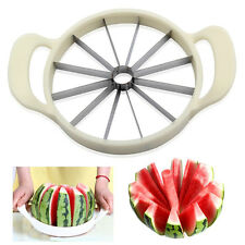 Fruit Melon Cantaloupe Slicer Watermelon Slicer Kitchen Tool Stainless Cutter UK