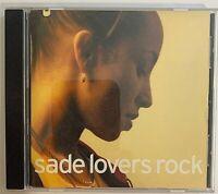 Sade - Lovers Rock CD 2000 Epic – 5007662000 VG