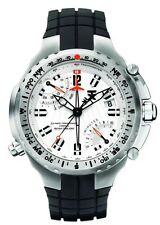 TX Flyback Chronograph Silicone Watch Dual Time & Compass T3B881 NEW! $500