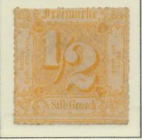 Thurn and Taxis Stamp Scott #23, Unused, No Gum