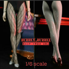 """1/6 SEXY FISHNET Lace Hosiery For 12"""" Female Figure PHICEN Hot Toys TBL ☆USA☆"""