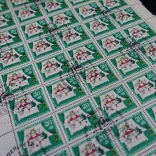 feuille sheet Bogen Deutschland berlin Nr.263 x50 1966 neuf 1. Tag first day